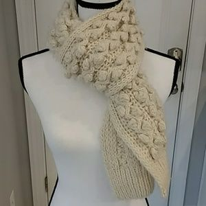 JCrew Beige Winter Scarf Scarf